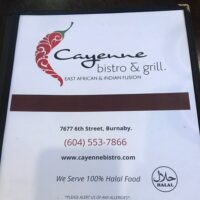 Cayenne Bistro and Grill