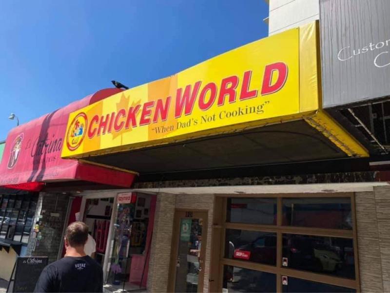 Chicken World Denman St
